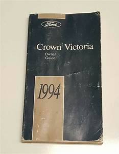 1994 Ford Crown Victoria Owners Manual User Guide V8 4 6l