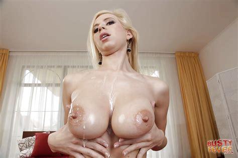 Big Tits Of A Blonde Milf Anastasia Devine Teased And