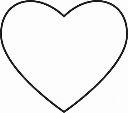 Heart Outline Lds Primary Coloring Hearts Pages