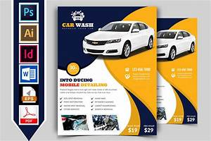 Car Wash Flyer Template Vol