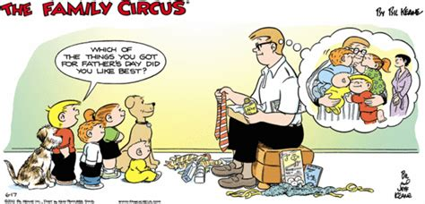 Family Circus Cartoon For Jun/17/2012