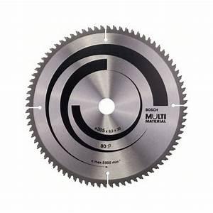 Scie Circulaire Gros Diametre : lame de scie circulaire multi material 305 mm 80 d bosch ~ Edinachiropracticcenter.com Idées de Décoration