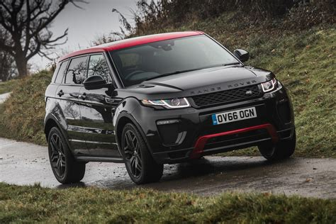 range rover evoque ember  review pictures auto express