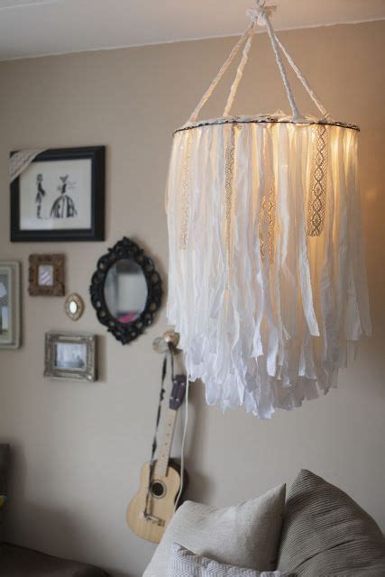 diy bedroom chandelier diy cloth chandelier would be so sweet a nursery