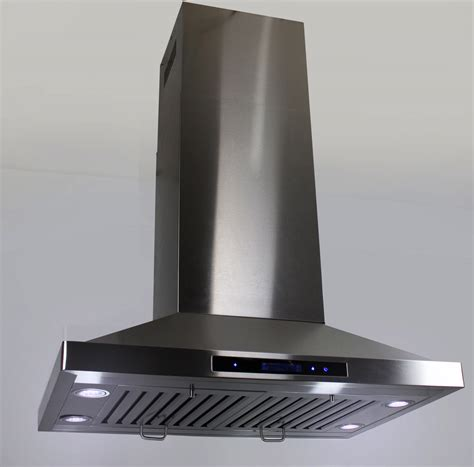 kitchen island extractor fans 36 quot island mount ductless ventless stainless steel range