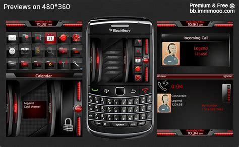 theme blackberry premium legend os 6 just mobile phone