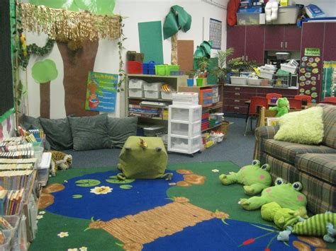 frog themed classrooms clutter  classroom