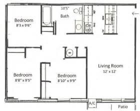 bedroom floorplan basham rentals 225 s river rd3 bedroom floor plans