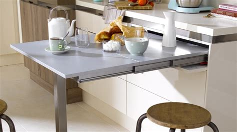 table cuisine 3 solutions pour installer une table dans une cuisine