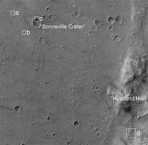 NASA - Mars Exploration Rover Landing Site at Gusev Crater