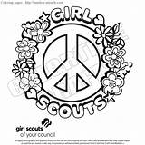 Coloring Pages Scout Junior Scouts Template sketch template
