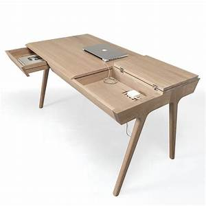 Schreibtisch Aus Holz : metis designer schreibtisch aus holz mit schubladen und f chern sediarreda ~ Whattoseeinmadrid.com Haus und Dekorationen