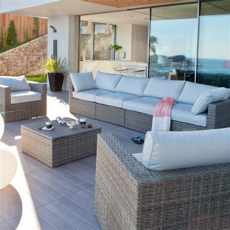 castorama 30 nouveaut 233 s pour la terrasse et le jardin tonnelle moorea et mobilier kalix