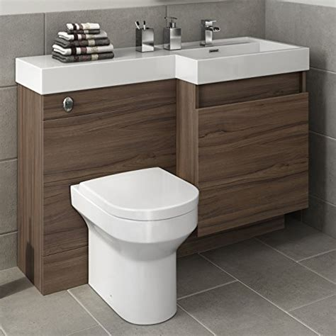 kitchen sink vanity unit 1200 mm modern walnut bathroom drawer vanity unit basin 6007