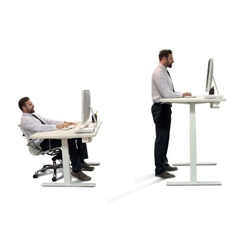 adjustable sit stand desk autonomous desk a1 a premium standing desk in white with