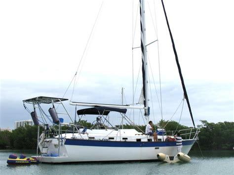 Sailboat Swim Platform by Lancer With Swim Platform Sailboat Charter In