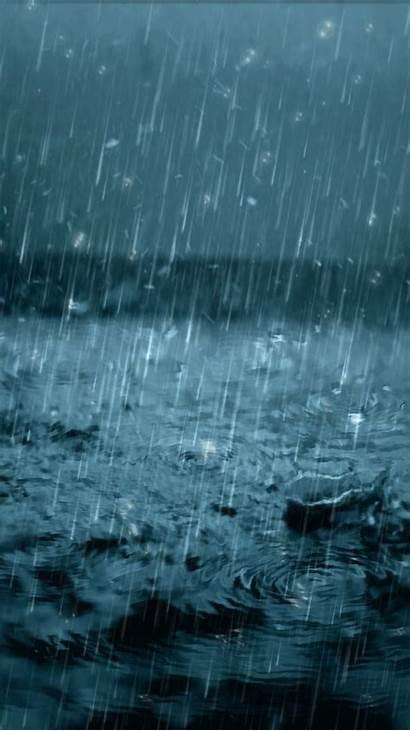 Rain Rainy Water Pouring Drop Animated Raining