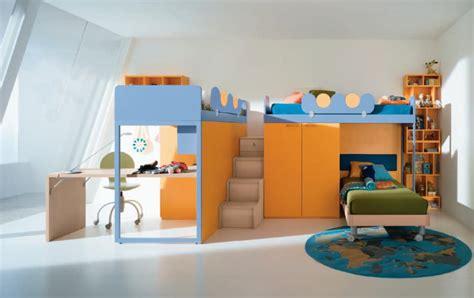 chambre fille lit superposé mezzanine lit enfant 287049
