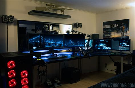 ordinateur de bureau alienware 30 coolest and inspiring multi monitor gaming setups
