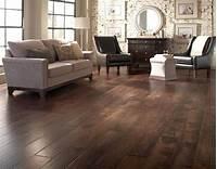 trending living room wood flooring Dark wood floor living room with country living room decor ...