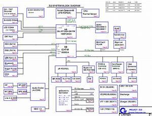 Acer Travelmate 6230 6231 6290 6291 6292 Schematic Diagram