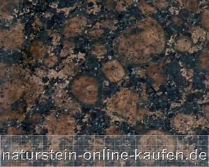 Granit Geflammt Und Gebürstet : granit baltic brown naturstein online ~ Markanthonyermac.com Haus und Dekorationen