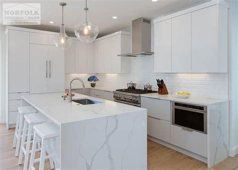 White Contemporary Kitchen In Boston, MA   Norfolk Kitchen