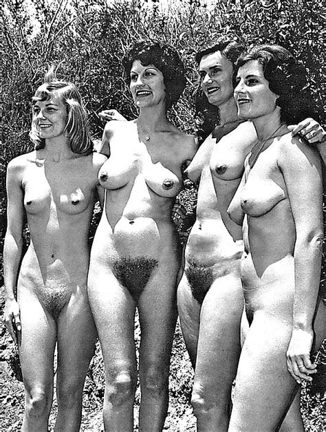groups of naked women vintage edition vol 2 25 pics