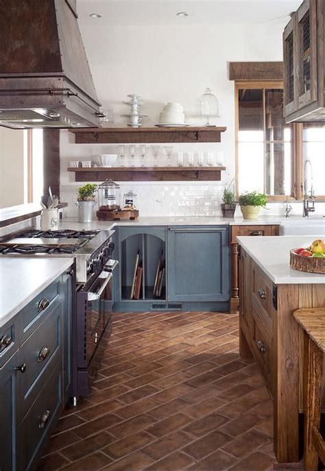 farmhouse kitchen floor ideas best 25 brick floor kitchen ideas on brick 7152