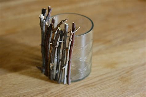 twig candle holder diy how to make an autumn twig candle jar daisychains