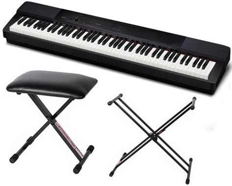 keyboard stand and bench casio privia px 150 digital piano black bundle with x