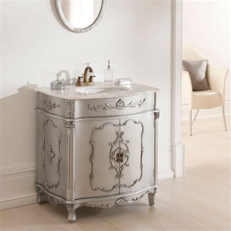 antique french vanity unit is a wonderful addition to our
