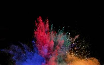 Powder Blast Explosion Background 4k Ultra Widescreen