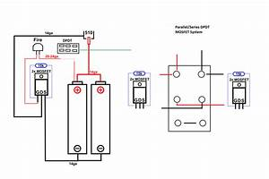 Parallel  Series Dpdt With Mosfets Help