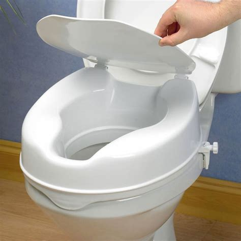 Raised Toilet Seat With Lid  Low Prices