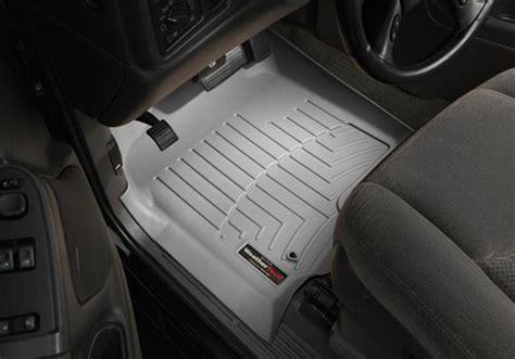 weathertech floor mats gmc weathertech gmc sierra digitalfit slush style floor mats autotrucktoys com
