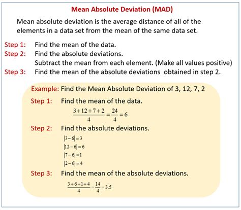 measures of variability solutions exles worksheets