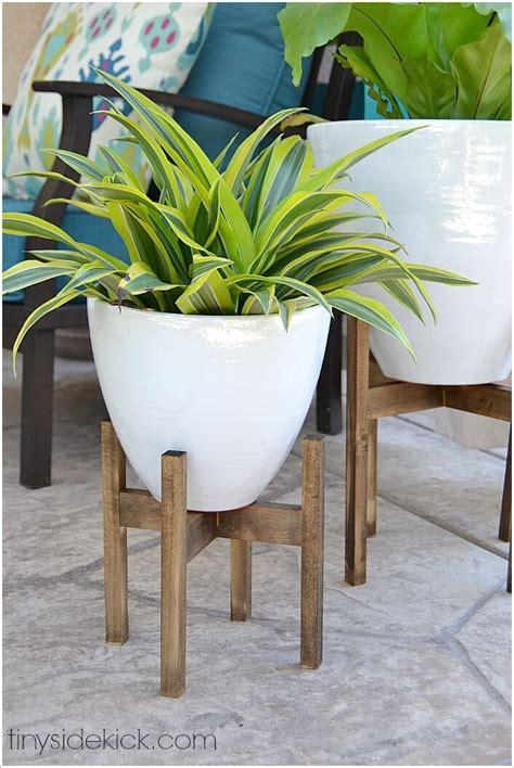 fresh ideas  indoor planter stands
