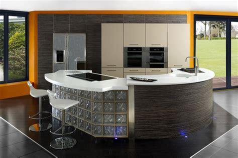 cuisines ouvertes avec bar ilot central rond cuisine cuisine en image