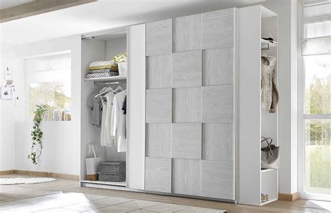 pannelli scorrevoli per cabine armadio armadio miss 2 ante scorrevoli bianco opaco e grigio