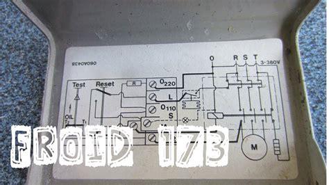 thermostat chambre froide froid173 schéma électrique de câblage du pressostat