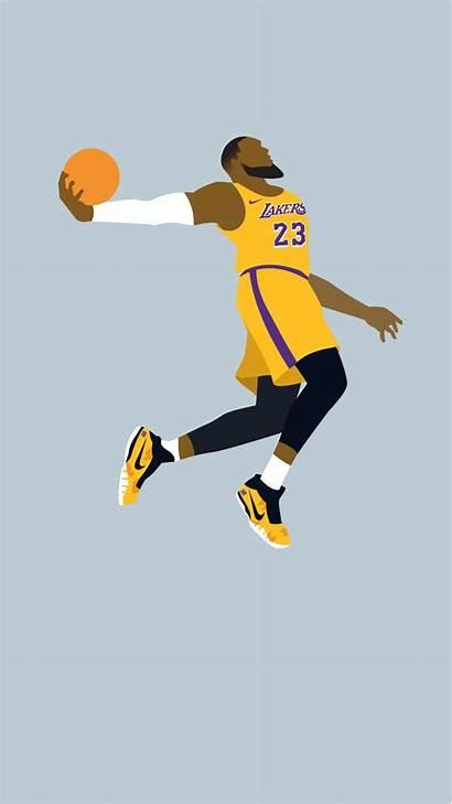 Lakers Lebron James Iphone Wallpapers Basketball Mobile