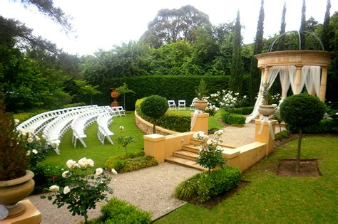 wedding ceremony and reception venues adelaide adelaide garden weddings 187 silvestri s of clarendon restaurant weddings events