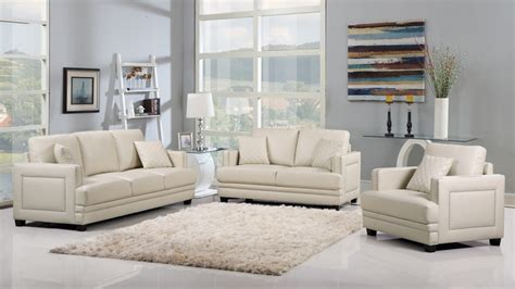 Beige Leather Sofa Set by Ferrara Opulent Beige Leather Sofa Loveseat Set With