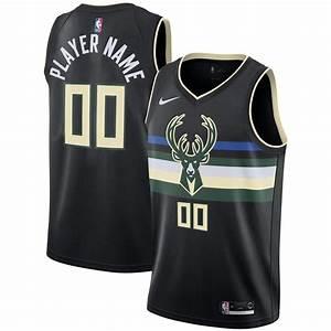 Milwaukee Bucks Nike Statement Swingman Jersey Custom