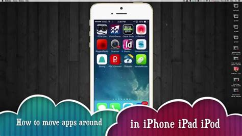 how to move apps on iphone how to move apps around on iphone ipod
