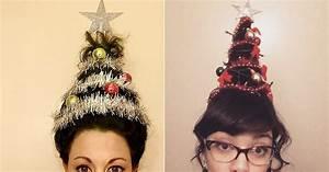 Coiffure Pour Noel : coiffure pour no l on adopte la coiffure sapin ~ Nature-et-papiers.com Idées de Décoration