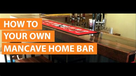 How To Make A Bar by How To Design Build A Home Bar