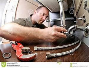Plumber ta work stock photo. Image of service, tool ...