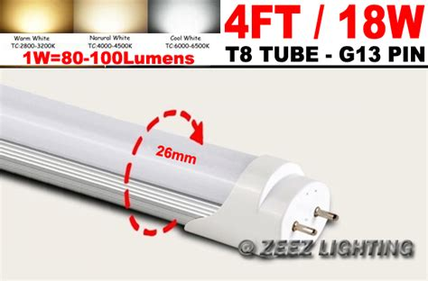 T8 4ft 18w Daylight Cool White G13 Led